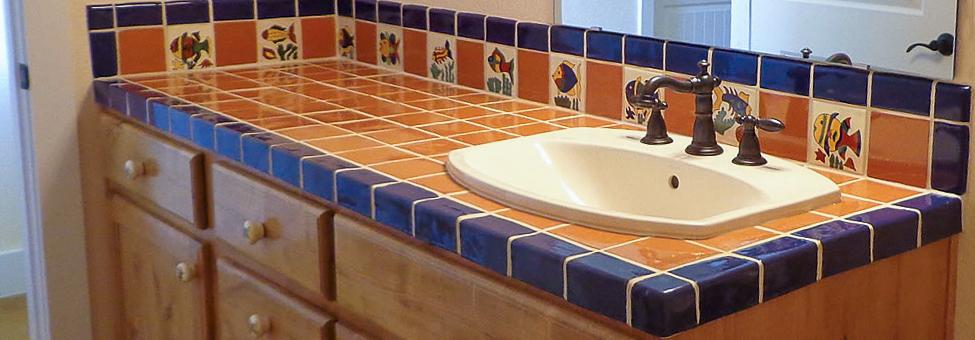 mexican tile trims rustica house