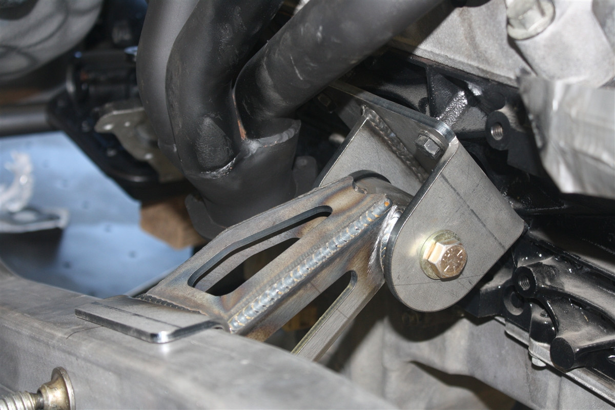 Jeep YJ LS Series and Gen III Conversion Engine Mounts