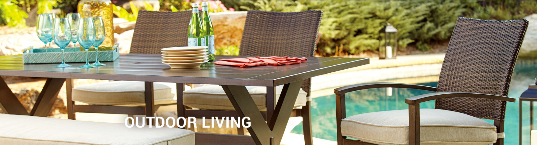 outdoor living furniture on sale in