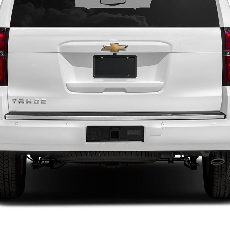 diamond grade 1pc 7 8 rear bumper accent trim for 2015 2019 chevy tahoe