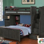 Multifunction Loft Bed In Driftwood Gray Allen House Kids Loft Beds And Bunk Beds