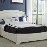 Avalon Full Size Platform Bed White Truffle Kids Furniture