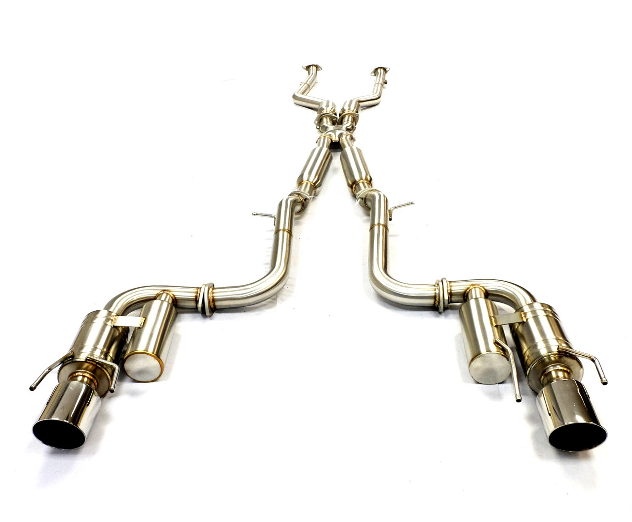 becker performance catback exhaust for 2014 2017 lexus is250 300 is350 awd only