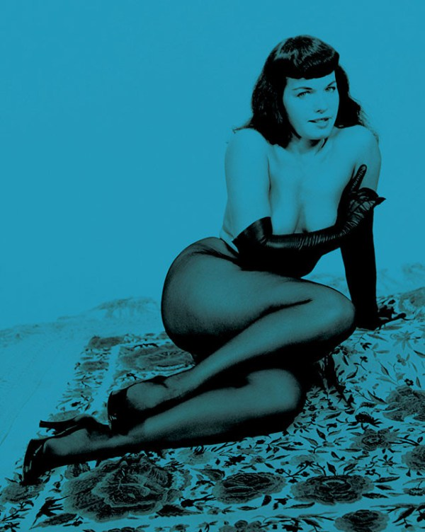bettie page color # 8