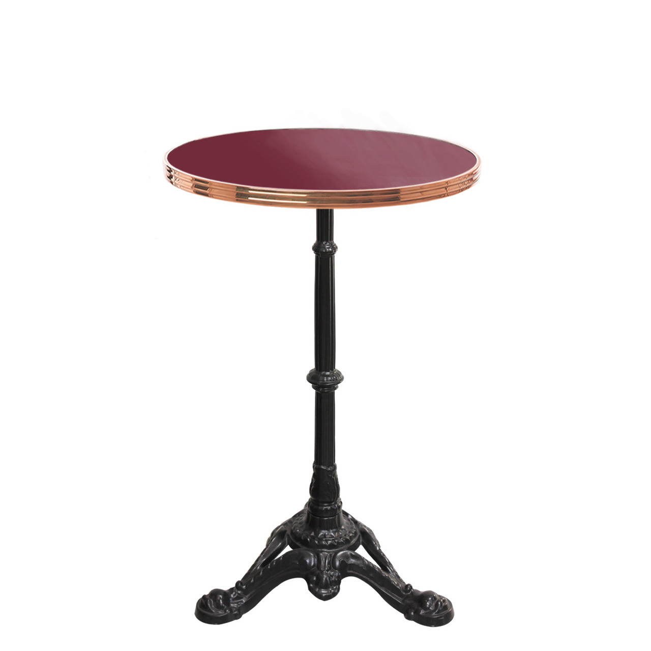 Metal Table Tops Red White Enamel