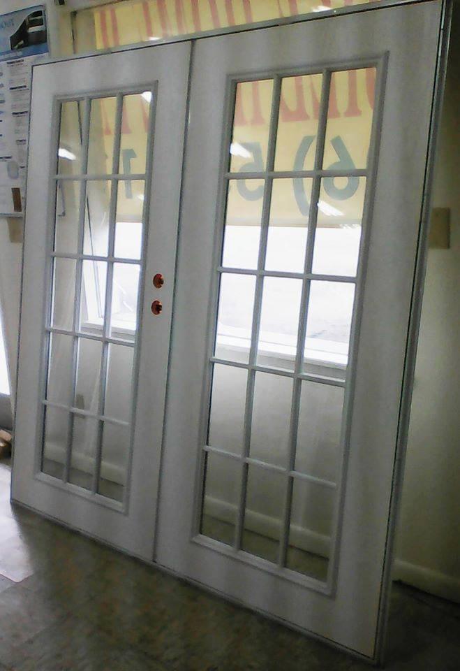 4000 series elixir double french door size 72 x76 white