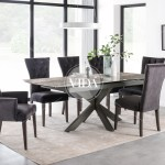 Valerius Dining Table Ext 170 220 Cm Ideal Furniture
