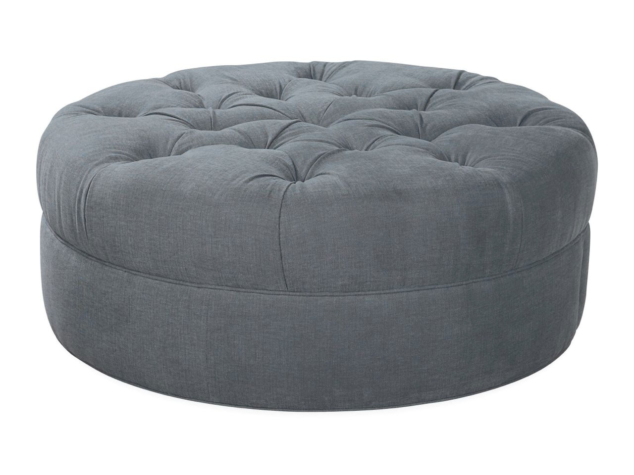 mod large tufted cocktail ottoman