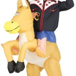 Mens Inflatable Ride On Horse Fancy Dress Costume Fancy Me Limited