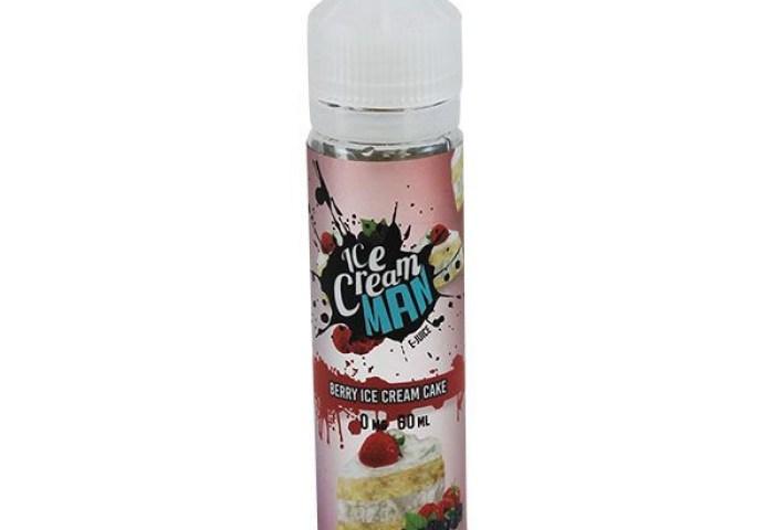 Berry Ice Cream Cake E Liquid 50ml By Ice Cream Man 1449 Free Nic