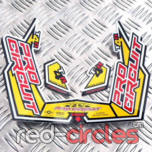 pro circuit t4 exhaust decal