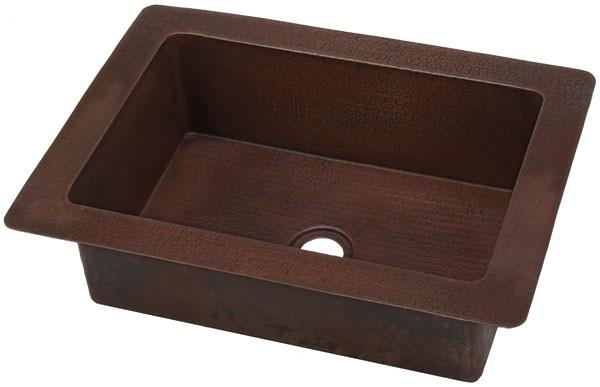 kitchen kdi22 copper bar prep sink