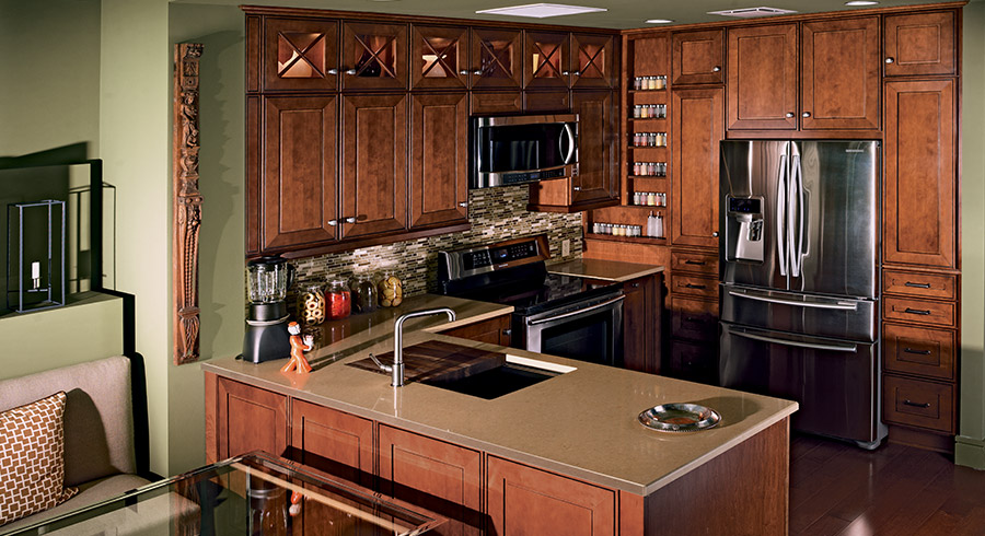 Small Kitchen Ideas : 7 Tips To Make Small Kitchens Feel ... on Small Space:fn118Lomvuk= Small Kitchen Ideas  id=34765