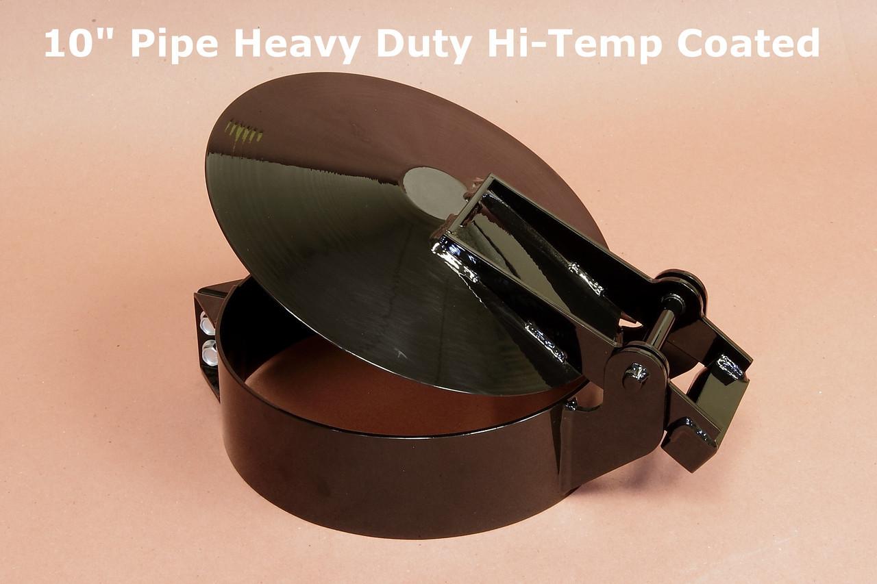 10 pipe hd raincap hi temp coated 10 3 4 id