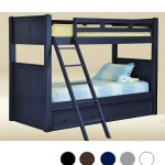 Dillon Extra Long Twin Over Twin Bunk Bed Reviews