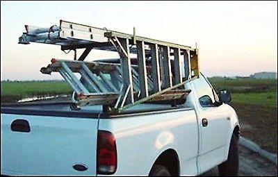 3 ladder side mount truck rack