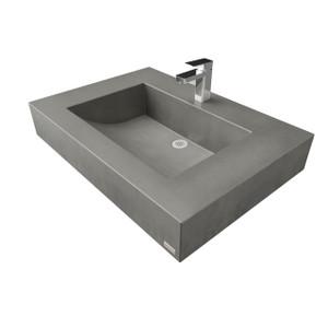 floating sink bracket trueform concrete