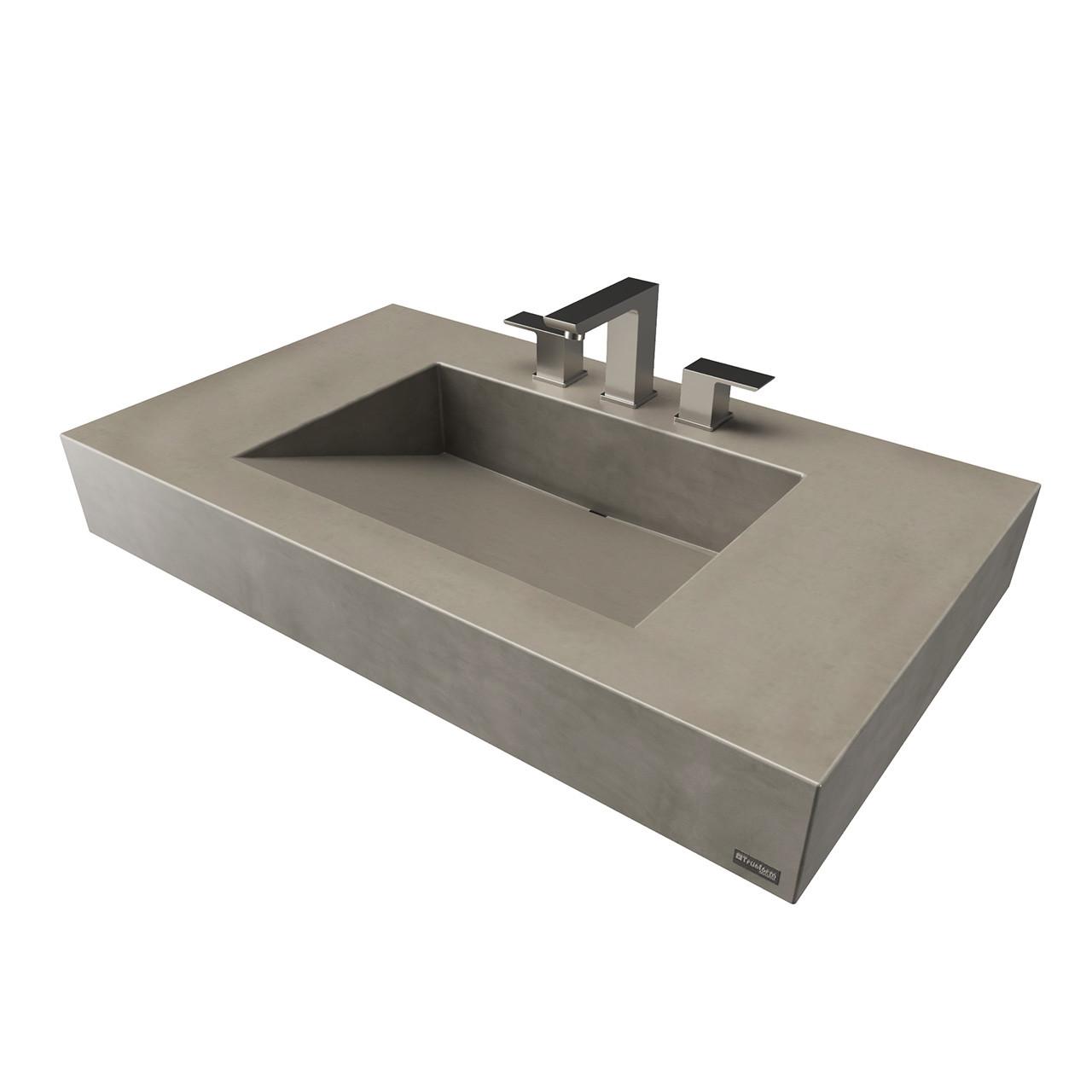 36 ada floating concrete ramp sink