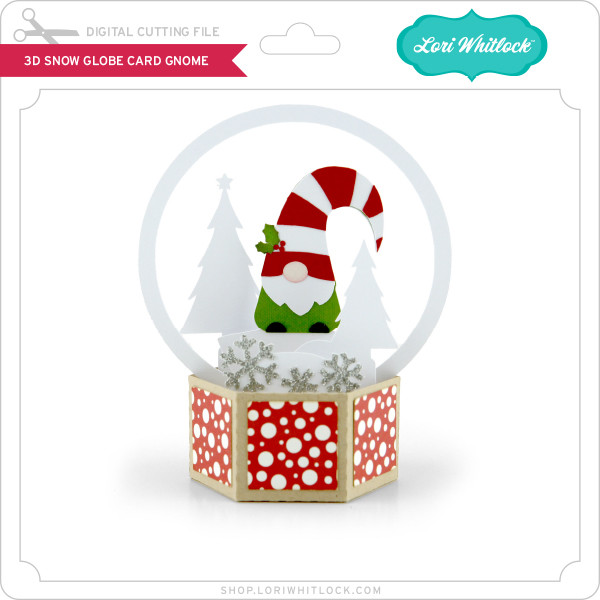Download all transparent flat new year, christmas, xmas, snow globe, decoration,. 3d Snow Globe Card Gnome Lori Whitlock S Svg Shop