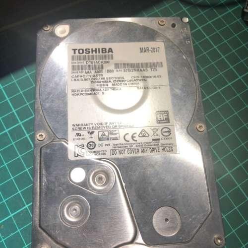 WD Blue 1TB + Toshiba 2TB + Toshiba 3TB HDD 硬碟 - DCFever.com