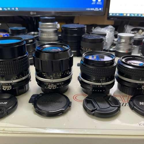 Special price for Sell 4 pcs of Nikon AI / AIS Lens - DCFever.com