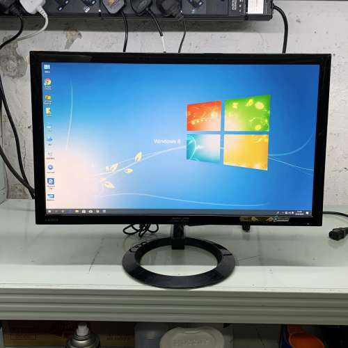 22吋 ASUS VX228H LEDmon 遊戲顯示器 1ms反應時間 內置喇叭 - DCFever.com