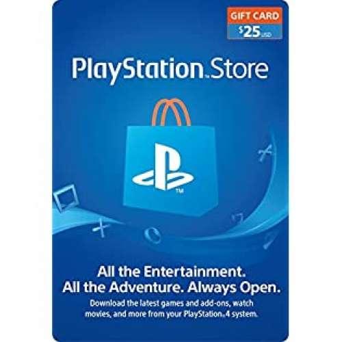 美國 PSN 美服 PlayStation Network 預付卡 USD $25 美金 Sony PS store PS3 PS4 - DCFever.com
