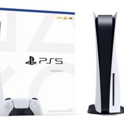 全新香港行貨 Sony PlayStation 5 PS5 光碟版連貨品保養單據 - DCFever.com