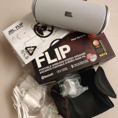 JBL Flip 藍芽喇叭 白色 - DCFever.com