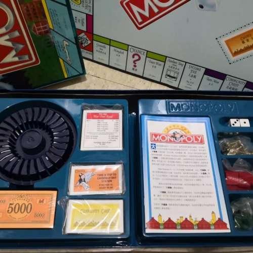 大富翁精裝豪華版 Monopoly board game 香港 hong kong - DCFever.com