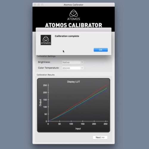Atomos calibration (偏色校正) - DCFever.com