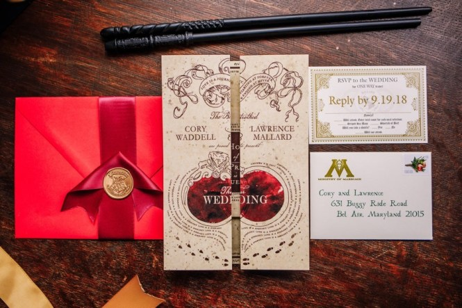 A Harry Potter Wedding Filled With