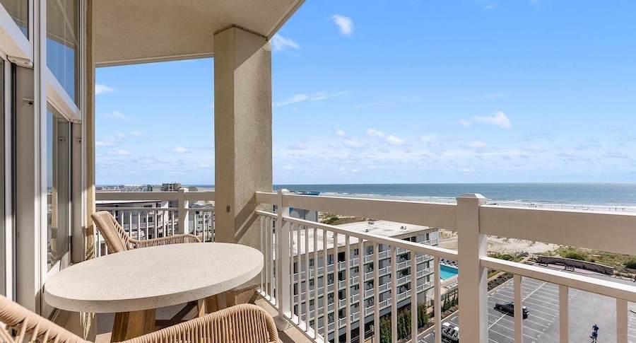 condo for sale diamond beach high-rise balcony
