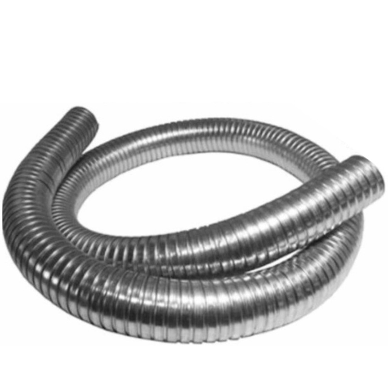 3 5 x 120 304 stainless steel flex exhaust hose sf 35120