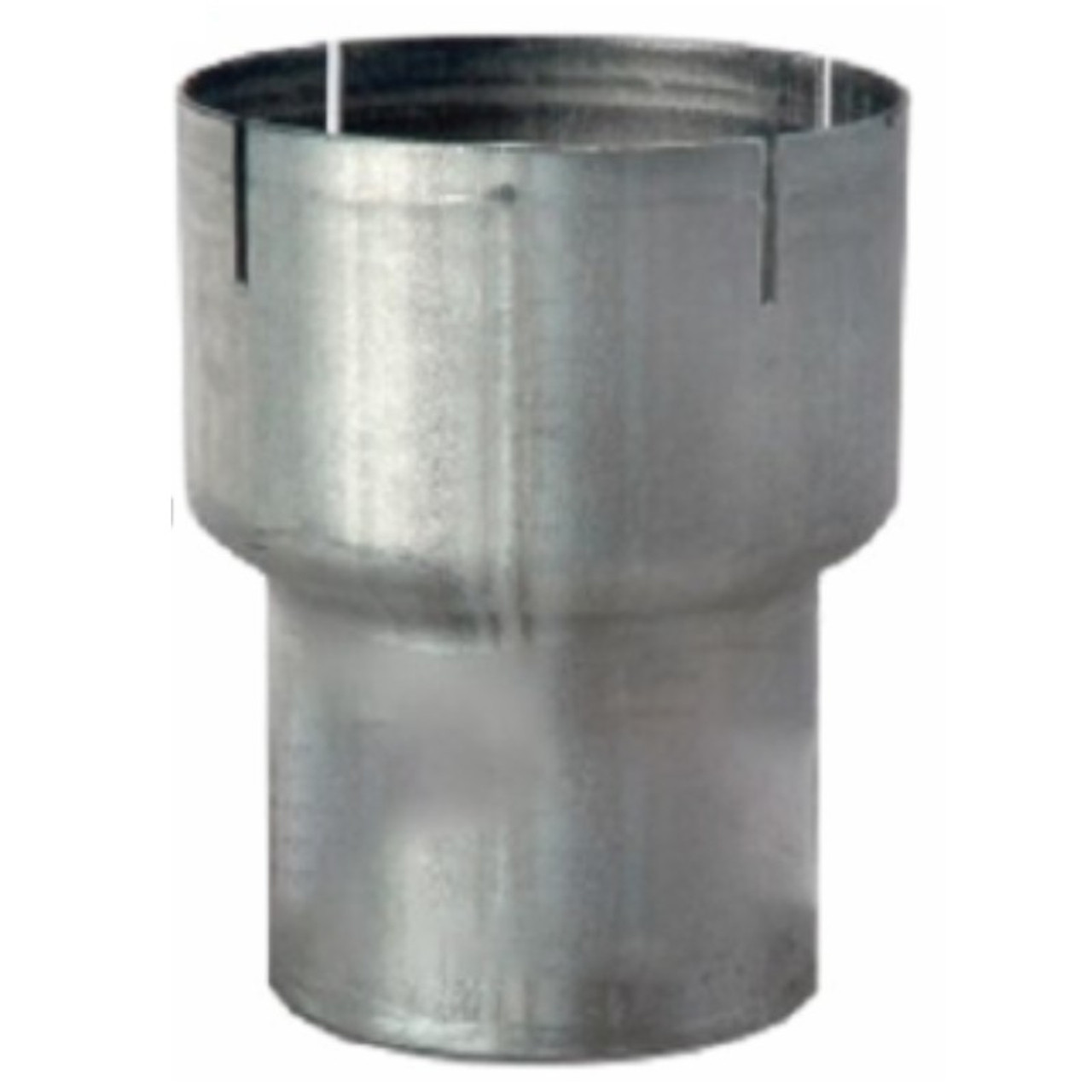 8 id to 5 od exhaust reducer aluminized pipe r8i 5oa