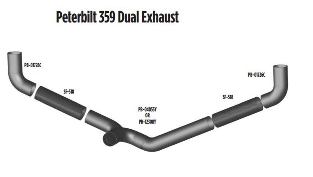 peterbilt 359 dual layout 359 dual
