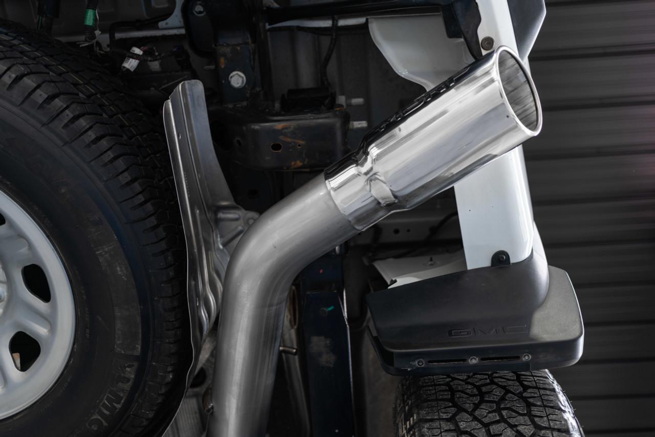 4 cat back exhaust 2020 2021 chevy silverado gmc sierra 2500 3500 6 6l al