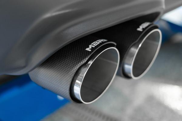 3 dual cat back quad tips w carbon fiber tips race t304 stainless steel dodge challenger 6 2l 6 4l hemi 2015 2021 5 7l hemi 2017 2021