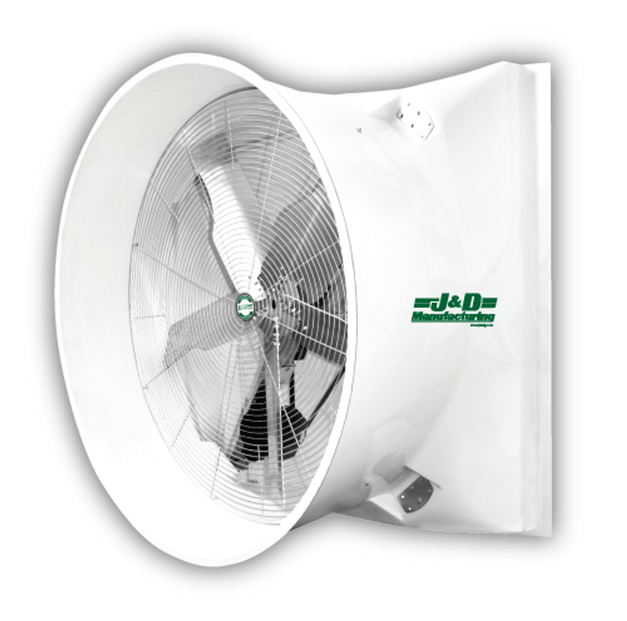 a2 j d mega storm 72 exhaust fan with cone and out up to 46 448 cfm 05 sp 3 hp single 3 ph 115 230v 230 460v multiple models