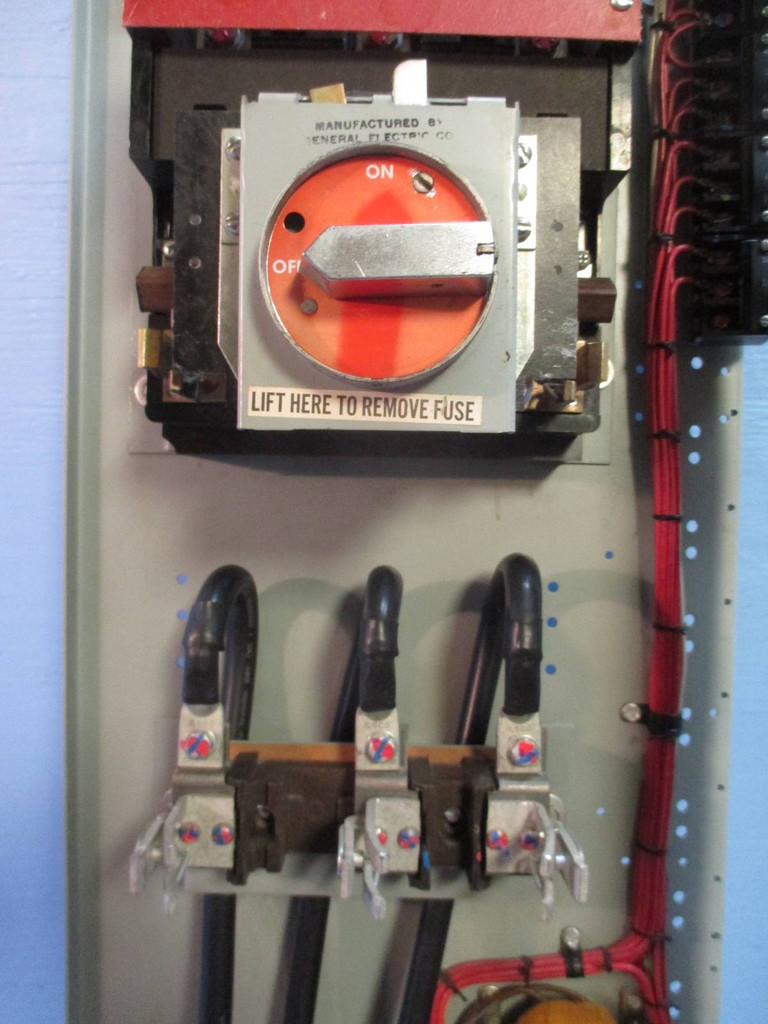 "General Electric GE 7700 Size 4 Starter 42"" 200 Amp ..."