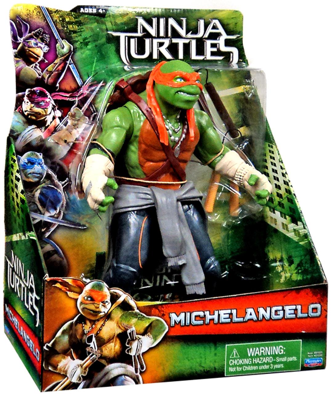 Teenage Mutant Ninja Turtles 2014 Movie 11 Inch Michelangelo 11 Action Figure Playmates Toywiz
