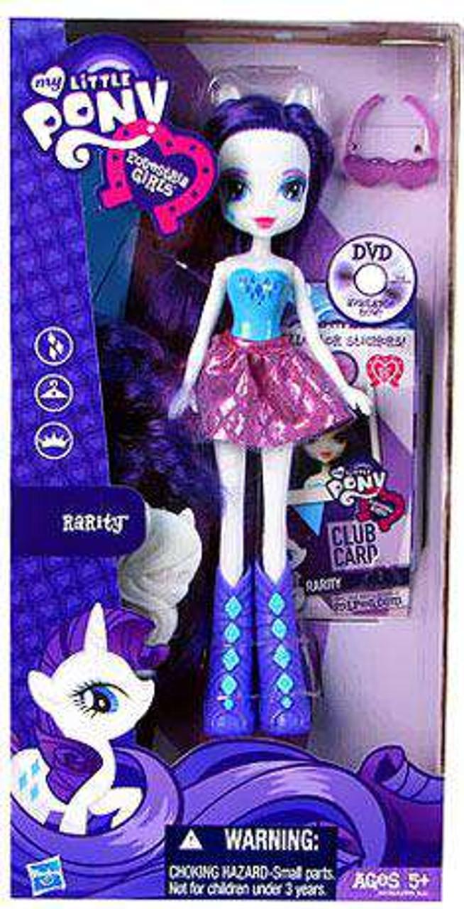 My Little Pony Equestria Girls 9 Inch Basic Rarity 9 Doll Damaged Package Hasbro Toys Toywiz