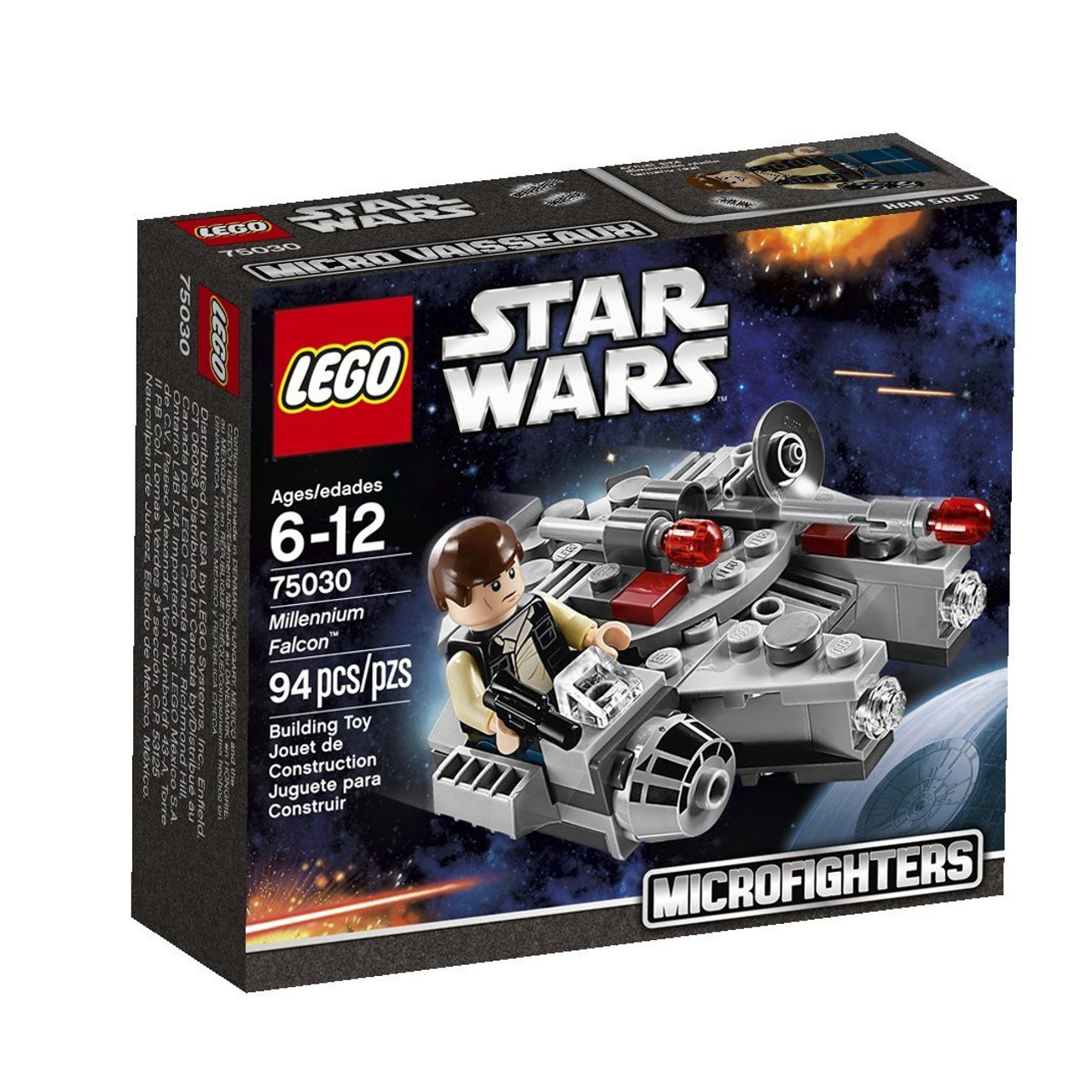 Lego Star Wars A New Hope Microfighters Millennium Falcon Set 75030