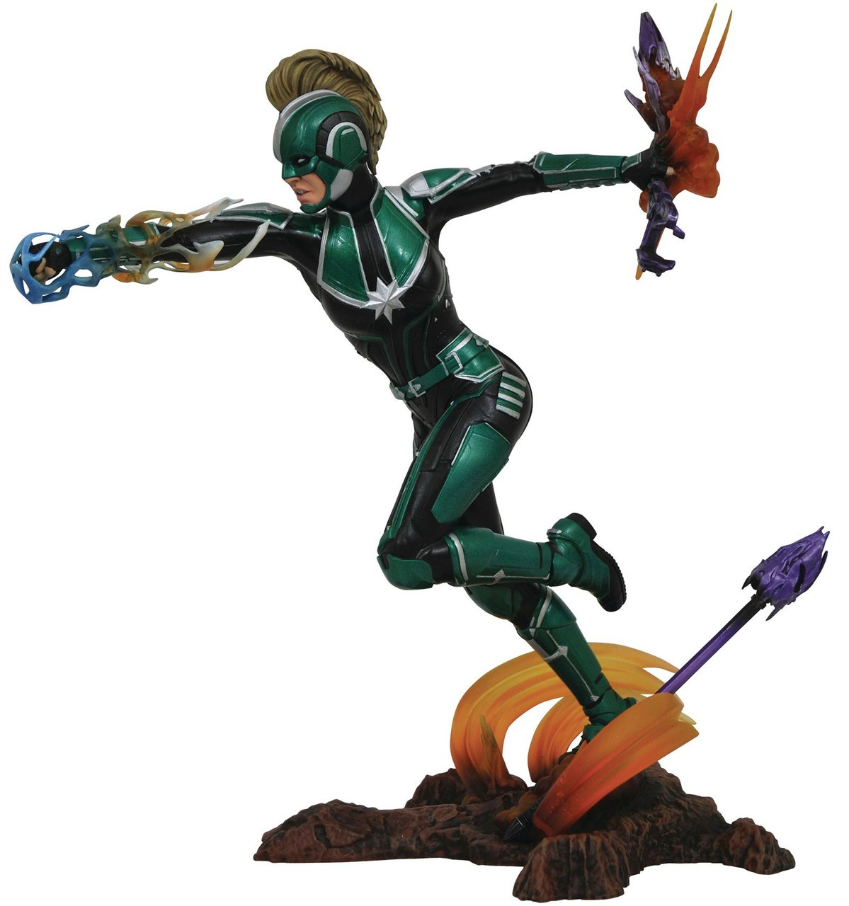 captain marvel marvel gallery captain marvel 9 collectible pvc