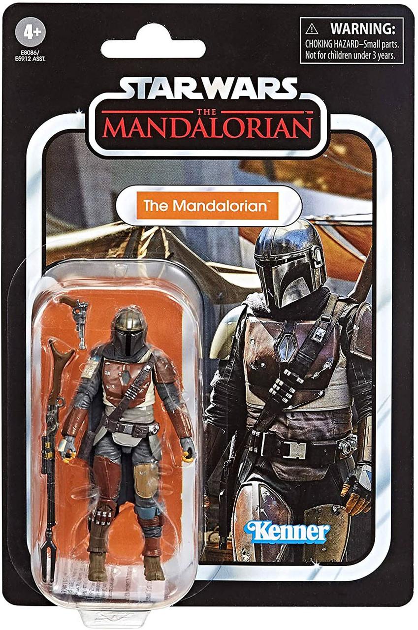 Star Wars The Mandalorian Vintage Collection The Mandalorian 3 75 Action Figure Hasbro Toys Toywiz