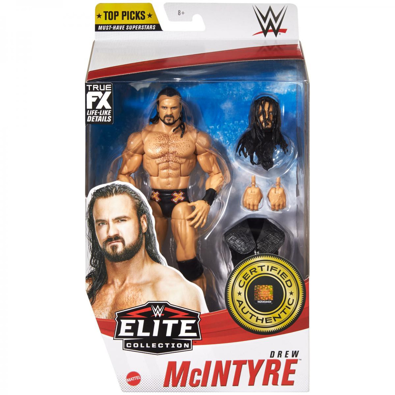 Wwe Wrestling Elite Top Picks 2021 Drew Mcintyre 6 Action Figure Mattel Toys Toywiz