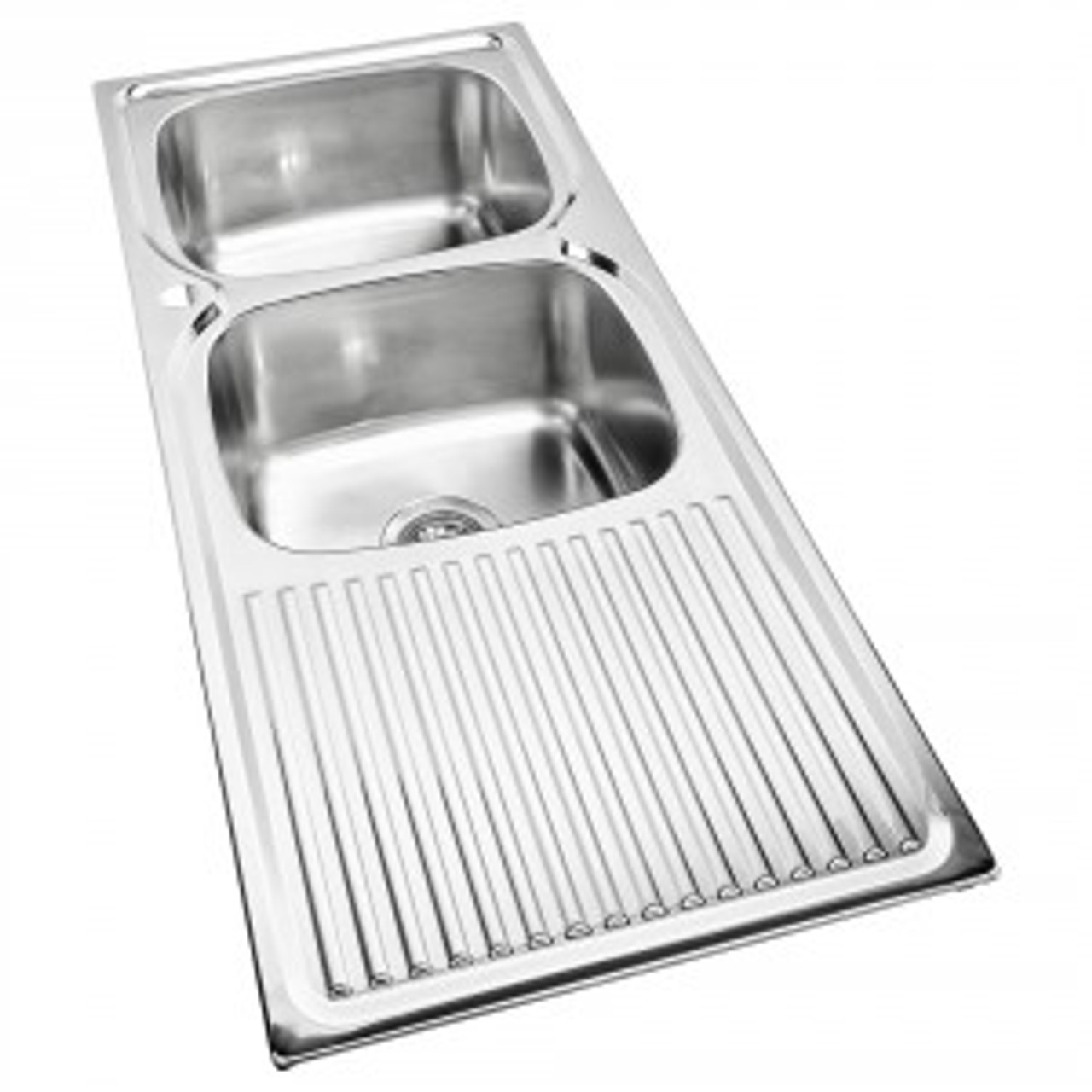 essential double bowl sink 1th