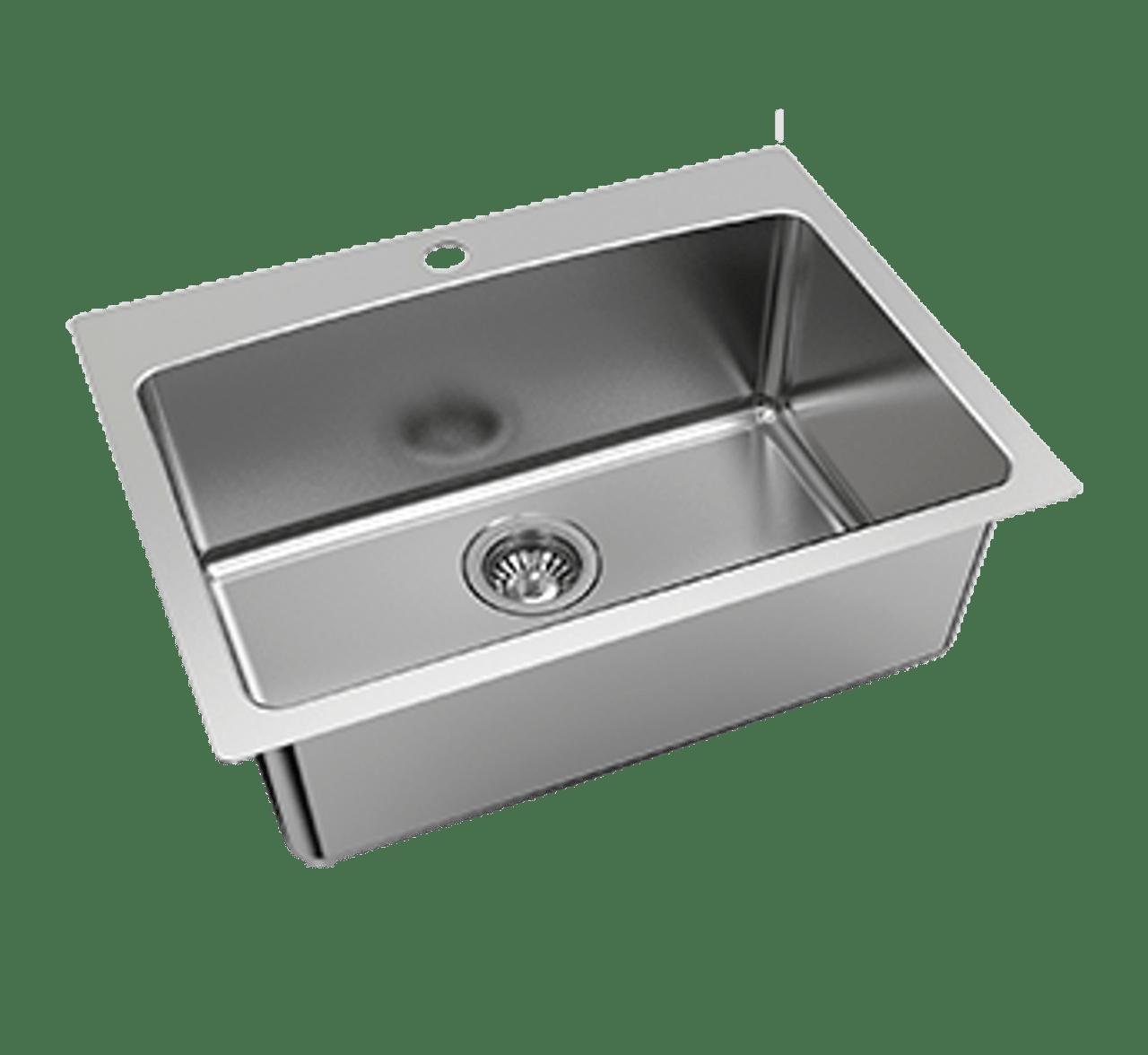 nugleam 45l utility sink 1th