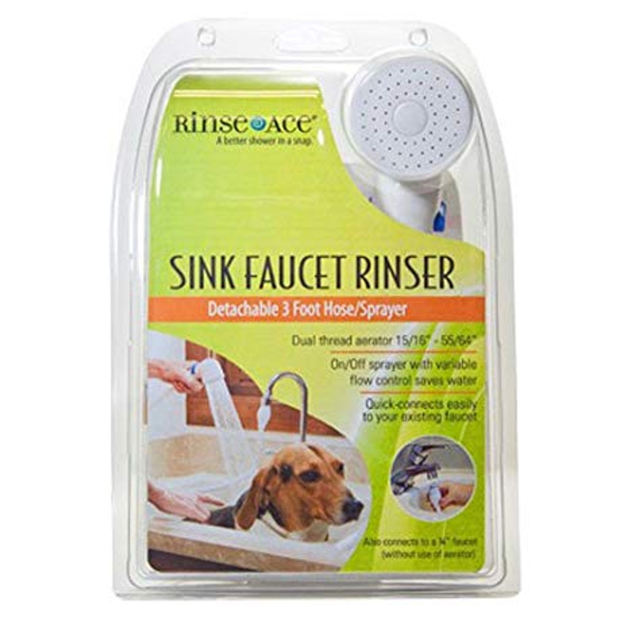 rinse ace sink faucet rinser 3 hose sprayer with variable flow