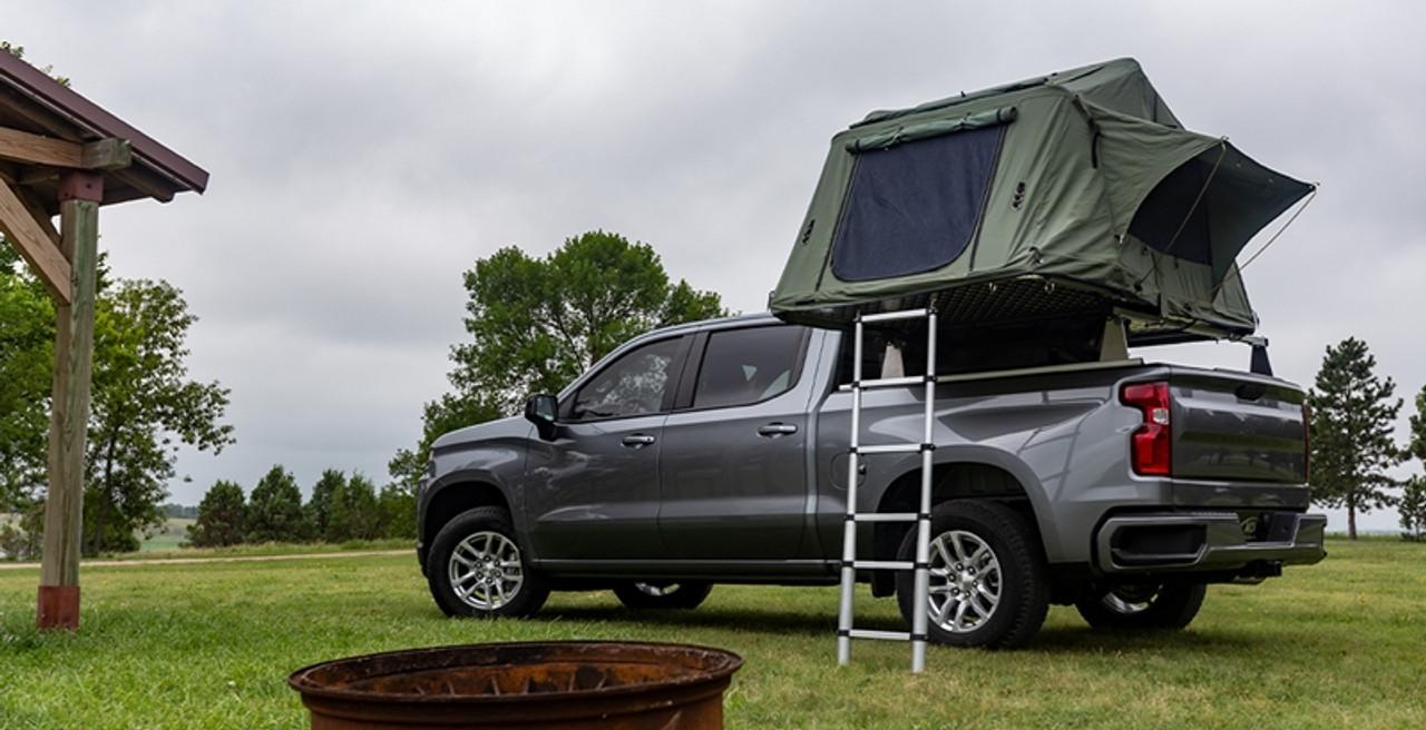 https leonardaccessories com product racks ladder access cover adarac aluminum m series truck bed rack
